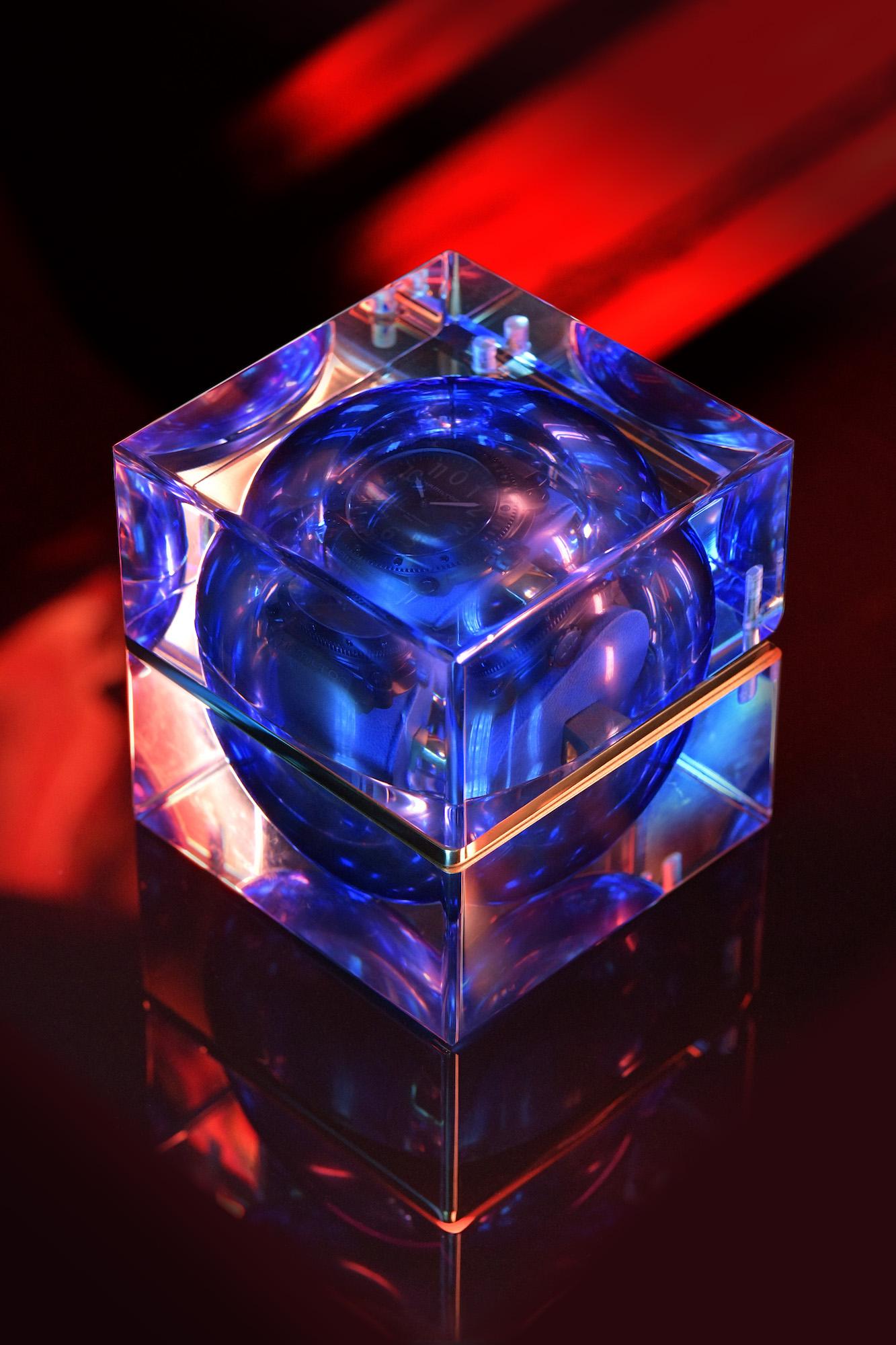 Hamilton Belowzero Titanium Limited Edition Blue H78505331 estuche 2