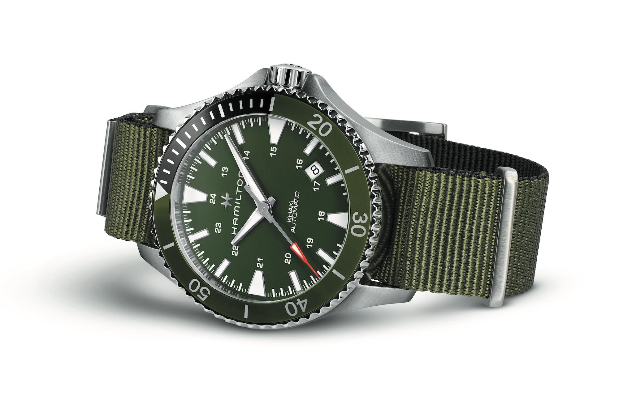 Hamilton Khaki Navy Scuba H82375961 2