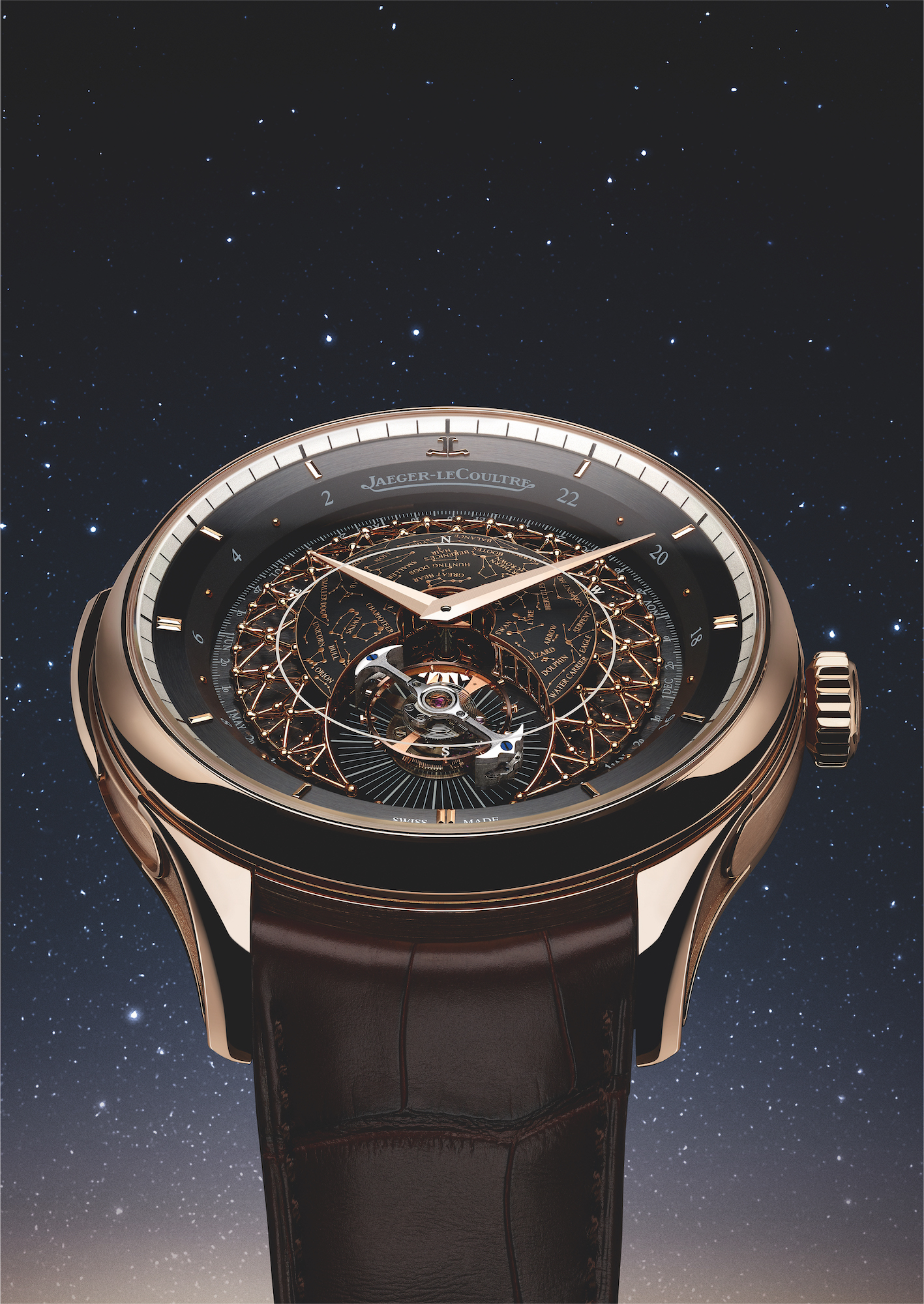 Jaeger-LeCoultre Master Grande Tradition Grande Complication Rose gold lifestyle detalle