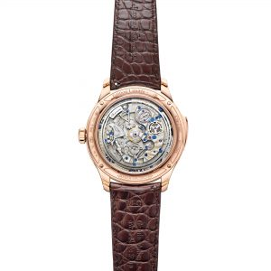Jaeger-LeCoultre Master Grande Tradition Grande Complication Rose gold trasera