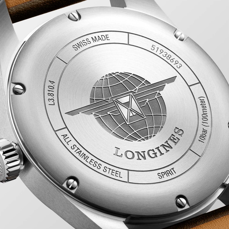 Longines Spirit L3.810.4.53.0 detalle trasera