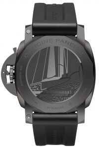 Panerai Luminor Luna Rossa GMT 44mm Pam 1036 trasera