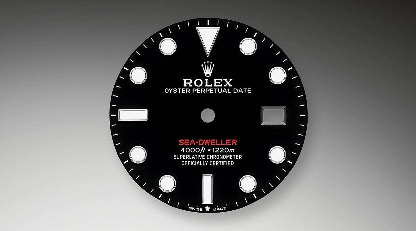 Rolex Sea Dweller 50 Aniversario ref. 126600 esfera
