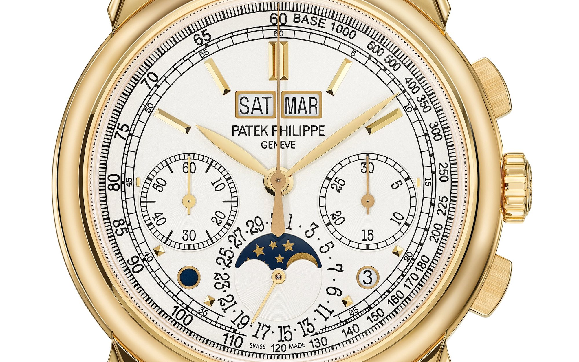 Patek Philippe 5270J Grand Complication detalle esfera