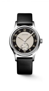 The Longines Heritage Classic - Tuxedo L2.330.4.93.0 frontal