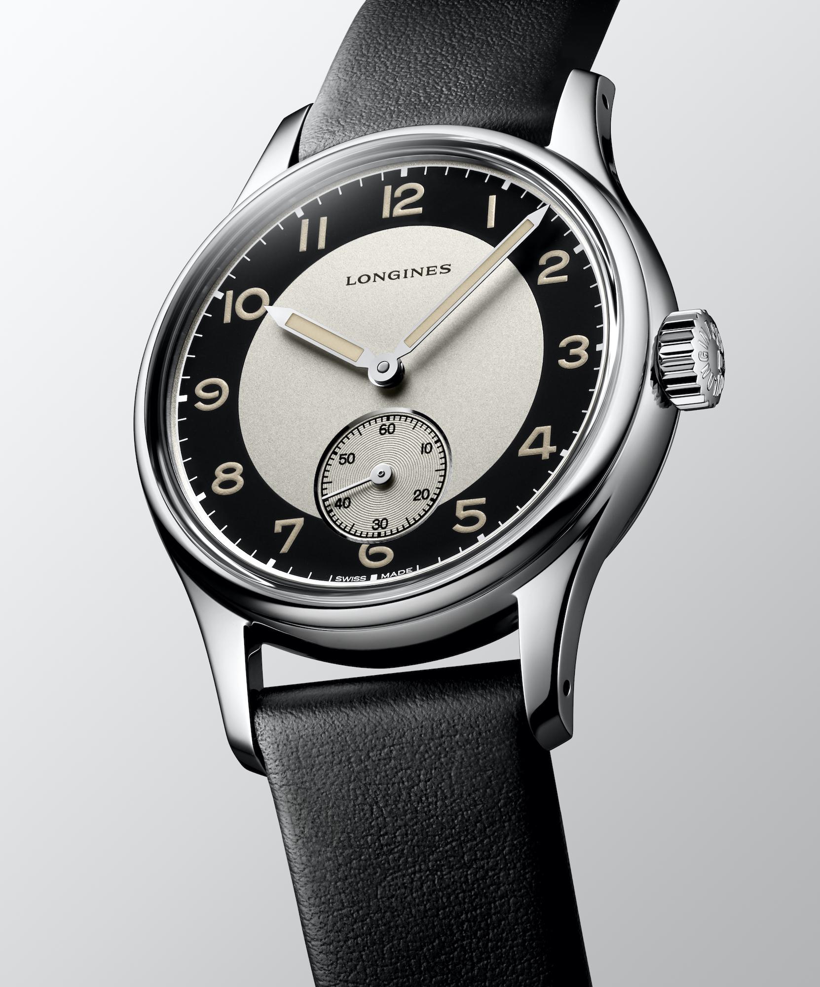The Longines Heritage Classic - Tuxedo L2.330.4.93.0