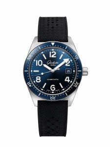 Glashütte Original SeaQ 39-11-09-81-33 frontal