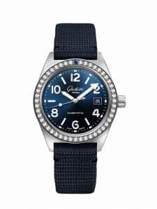 Glashütte Original SeaQ Brill 39-11-09-82-34 frontal