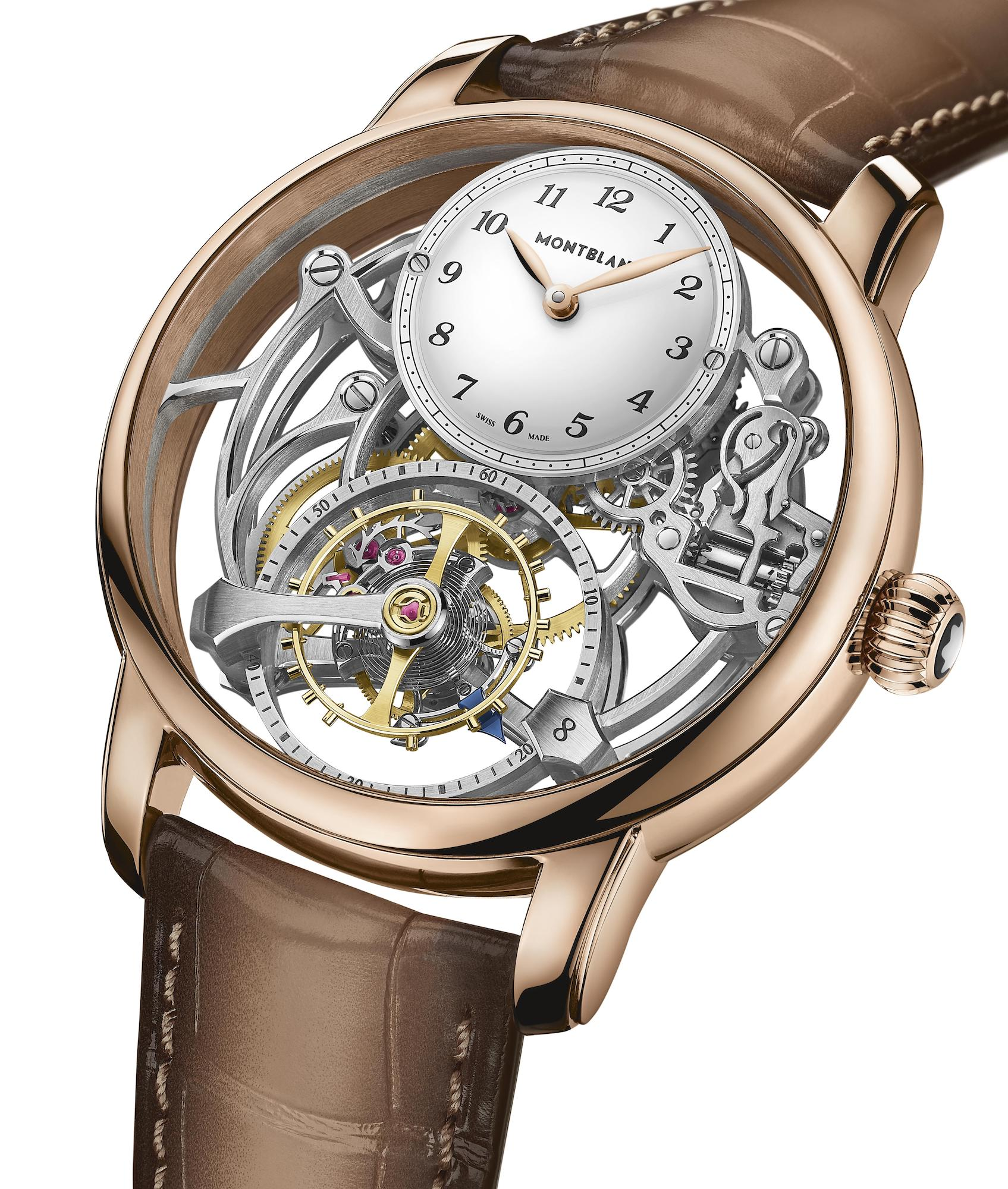 Montblanc Star Legacy Exo Tourbillon Skeleton Limited Edition 8 MB126096 detalle frontal