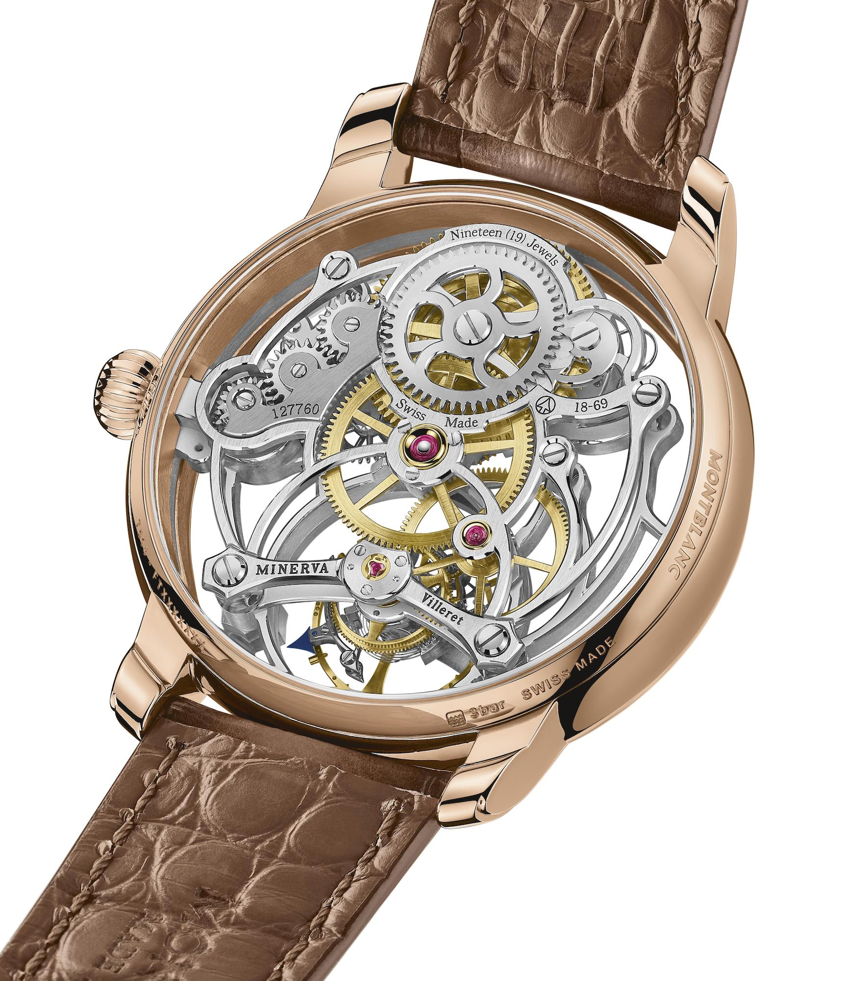 Montblanc Star Legacy Exo Tourbillon Skeleton Limited Edition 8 MB126096 detalle trasera