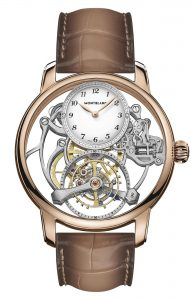 Montblanc Star Legacy Exo Tourbillon Skeleton Limited Edition 8 MB126096 frontal