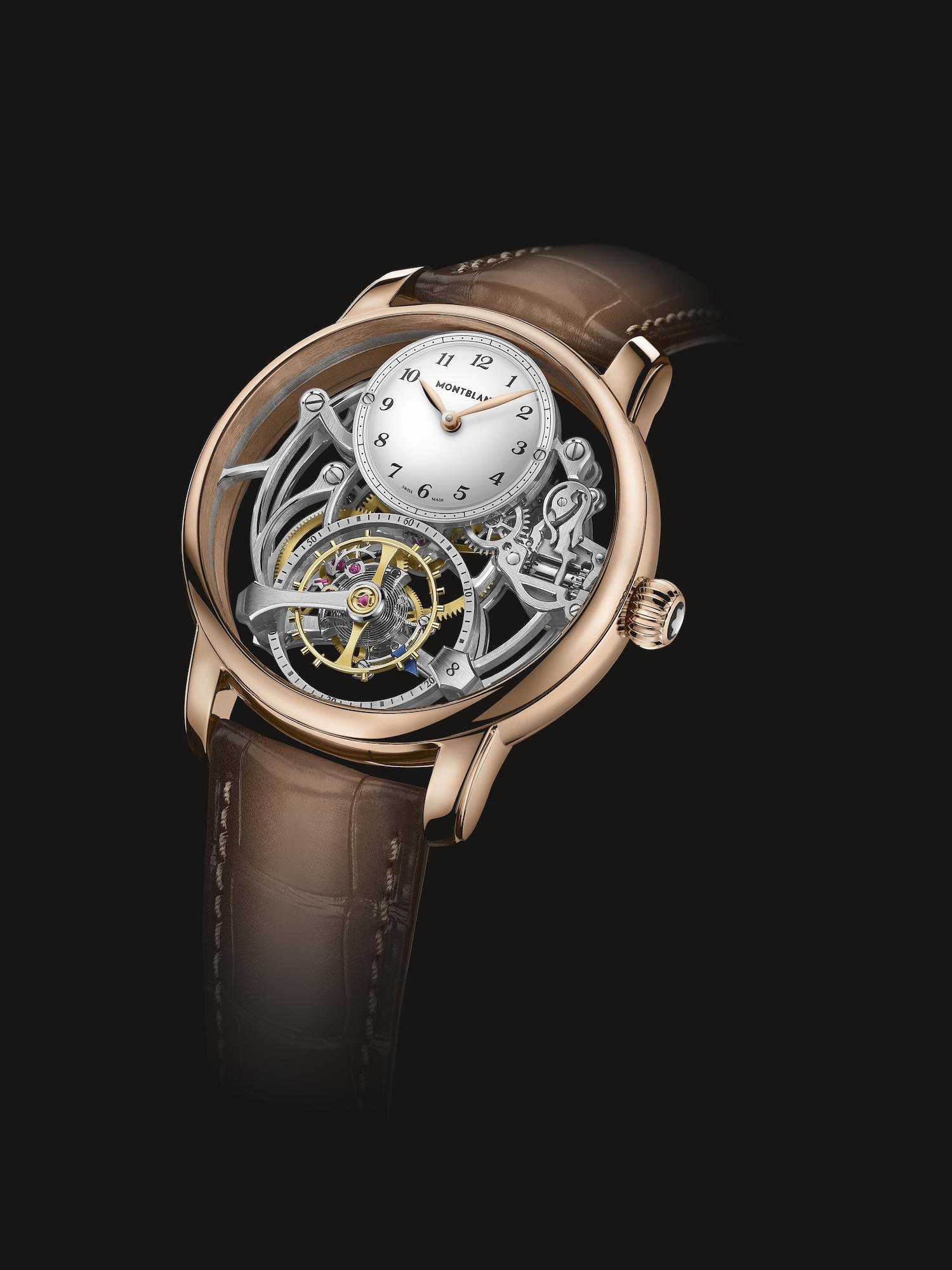 Montblanc Star Legacy Exo Tourbillon Skeleton Limited Edition 8 MB126096
