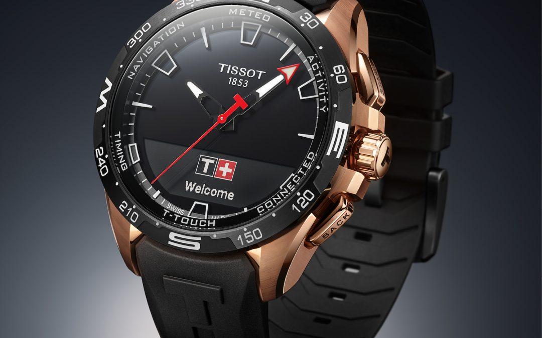 Tissot T-Touch Connect Solar. Conexión suiza