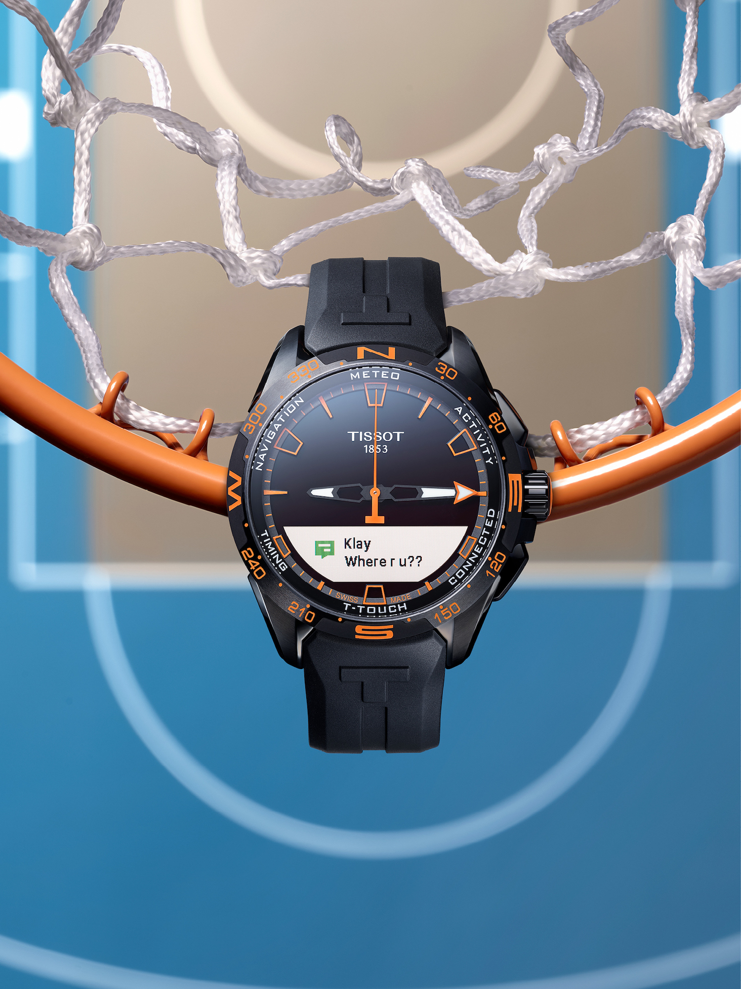 Tissot T-Touch Connect Solar Basketball