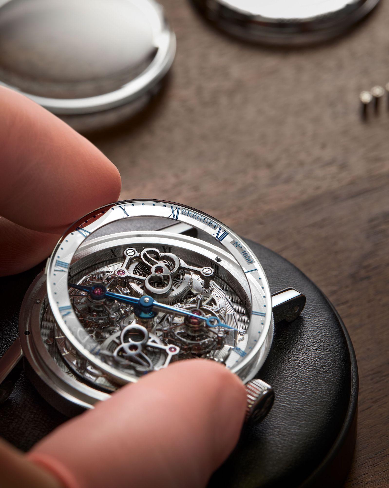 Breguet Classique Double Tourbillon Quai de l'Horloge 5345 Anidando