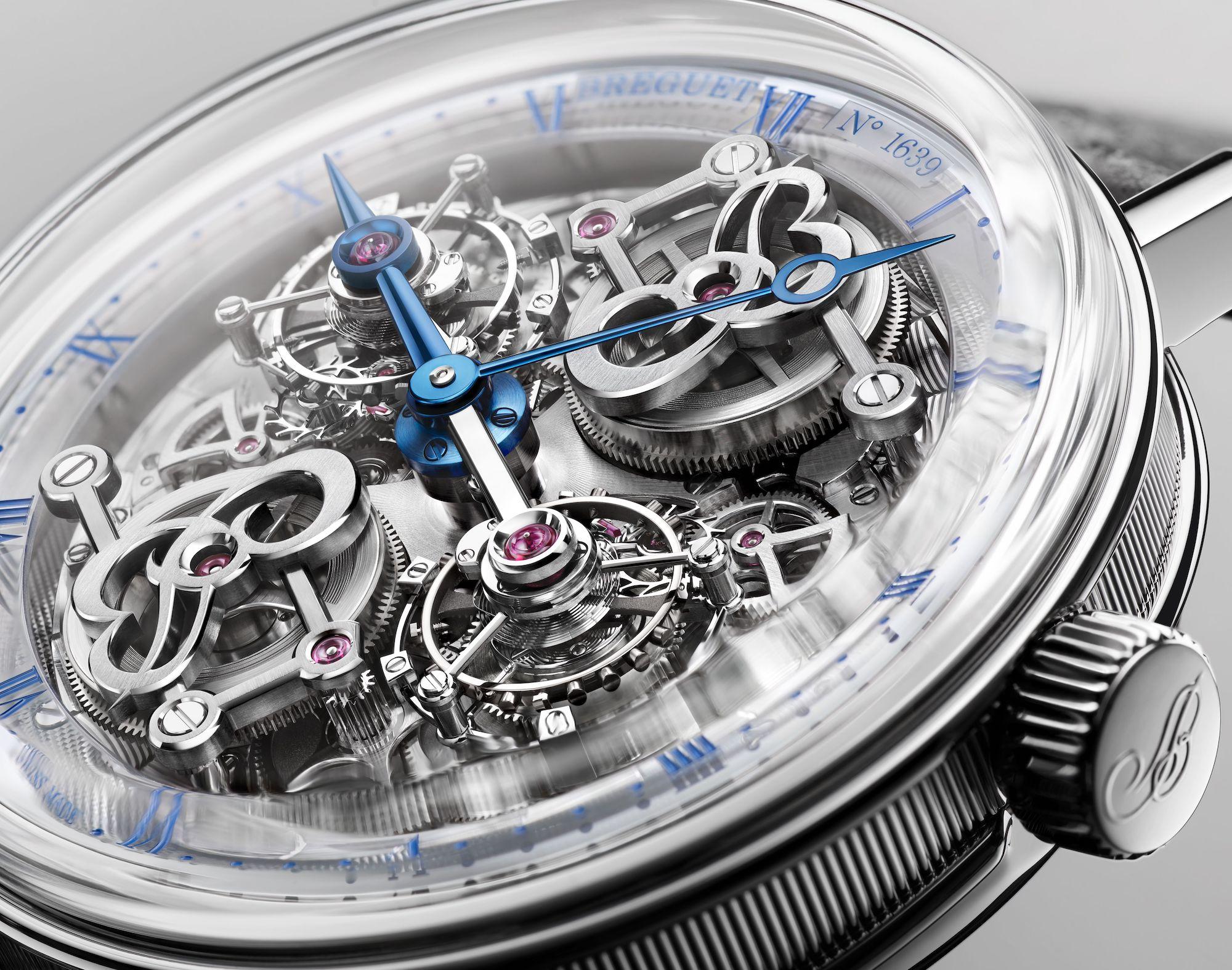 Breguet Classique Double Tourbillon Quai de l'Horloge 5345 detalle 3