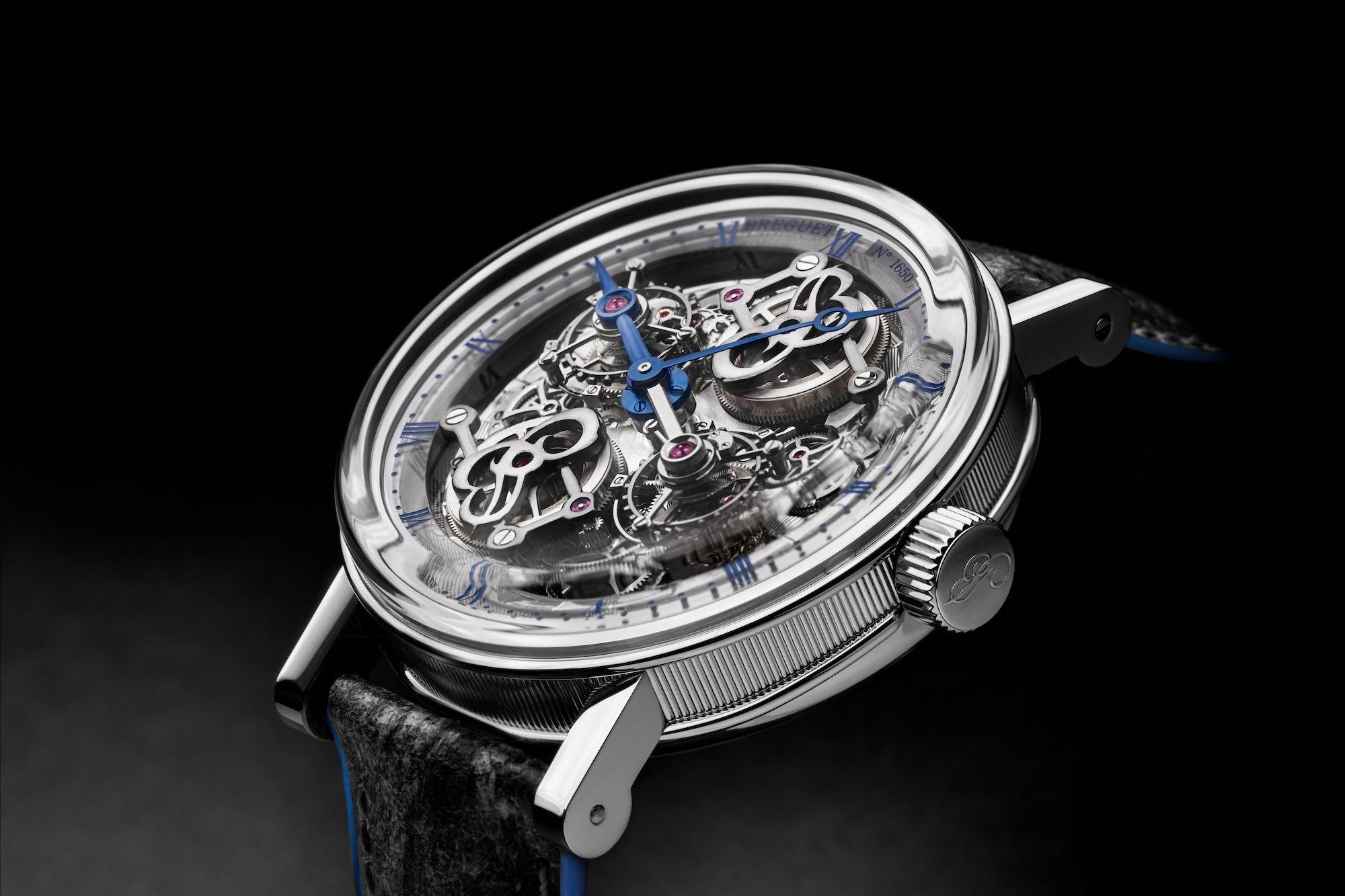 Breguet Classique Double Tourbillon Quai de l'Horloge 5345 detalle carrura