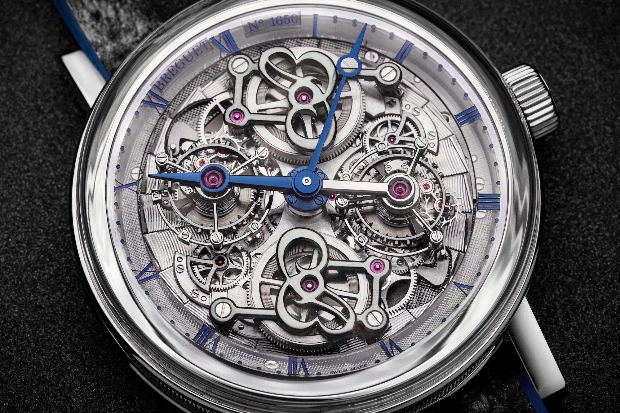 Breguet Classique Double Tourbillon Quai de l'Horloge 5345 detalle