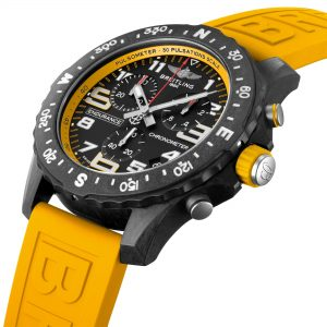 Breitling Endurance Pro amarillo detalle