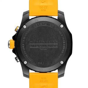 Breitling Endurance Pro amarillo trasera