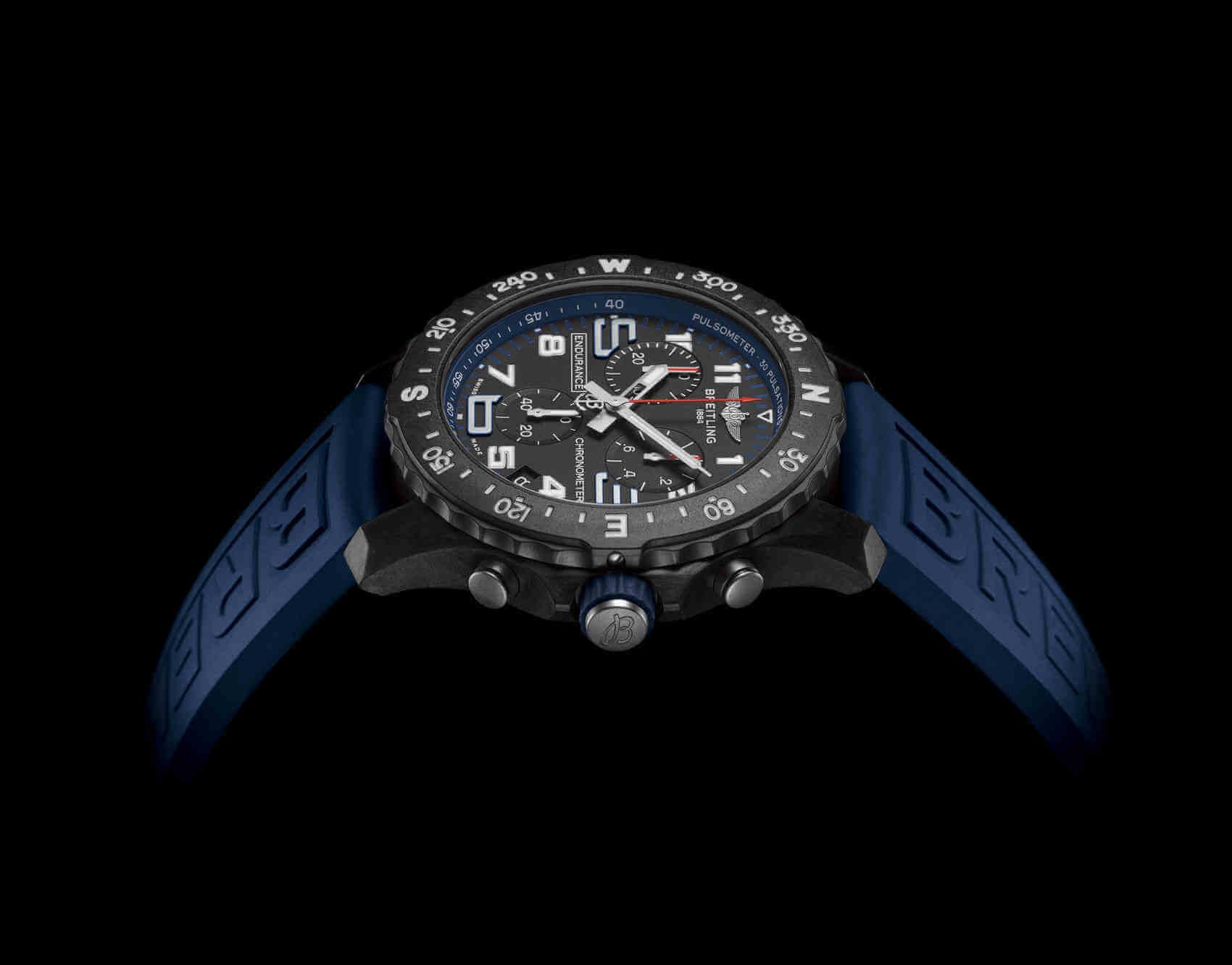 Breitling Endurance Pro azul lifestyle