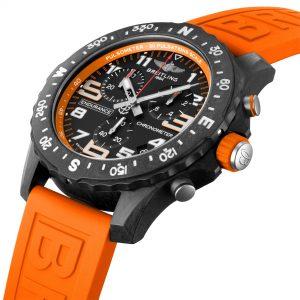 Breitling Endurance Pro naranja detalle