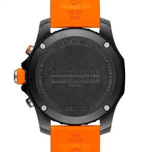 Breitling Endurance Pro naranja trasera