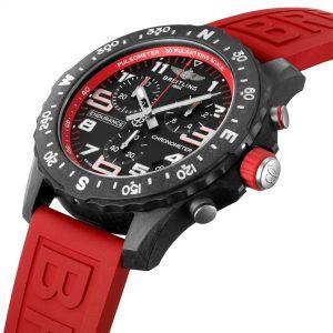 Breitling Endurance Pro rojo detalle