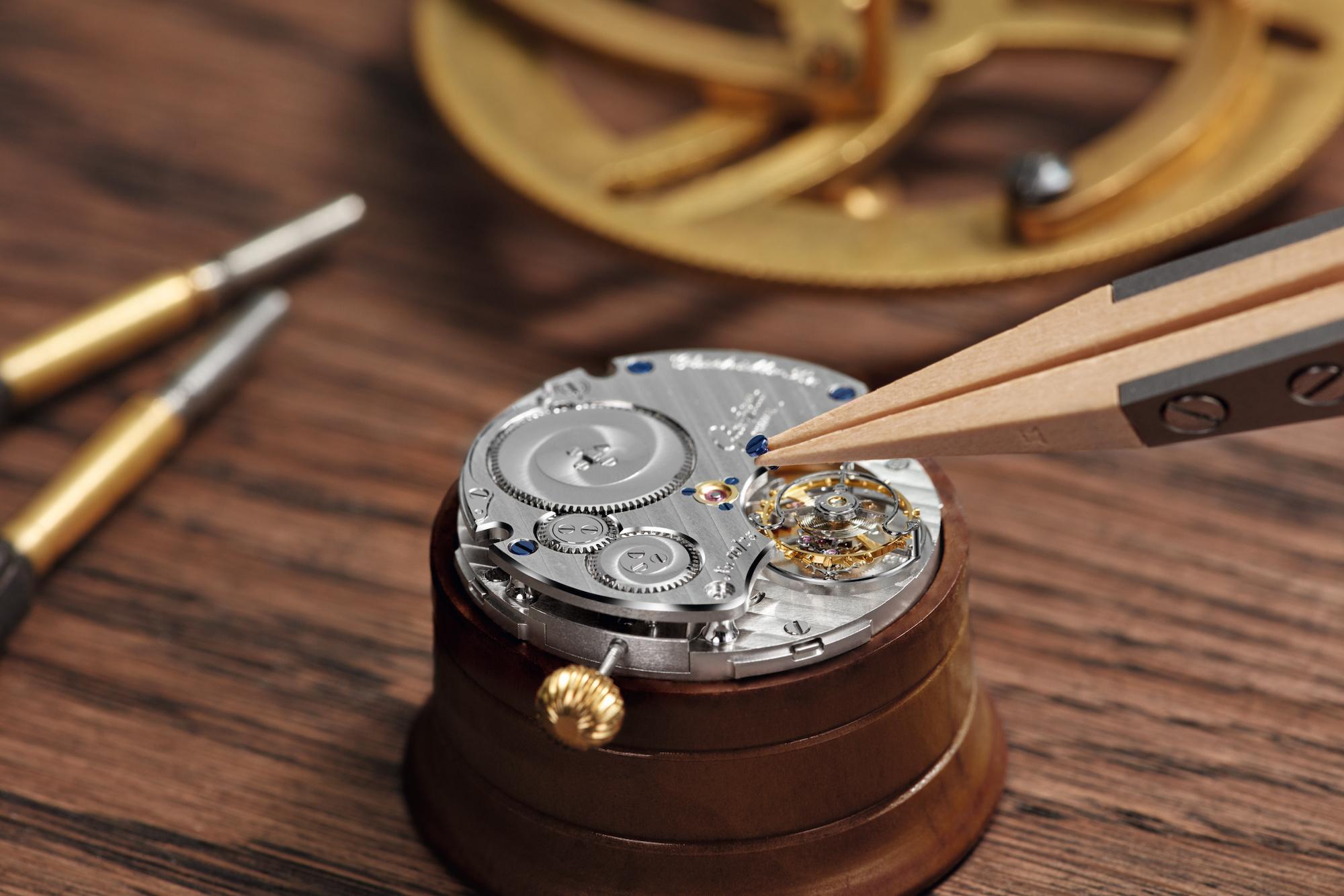 Glashutte Original montaje del calibre 54-01