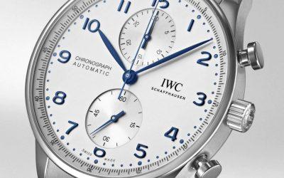 IWC Portuguese IW371617 con brazalete de acero