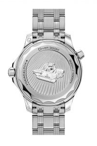 Omega Seamaster Diver 300M Nekton Edition 210.30.42.20.01.002 trasera