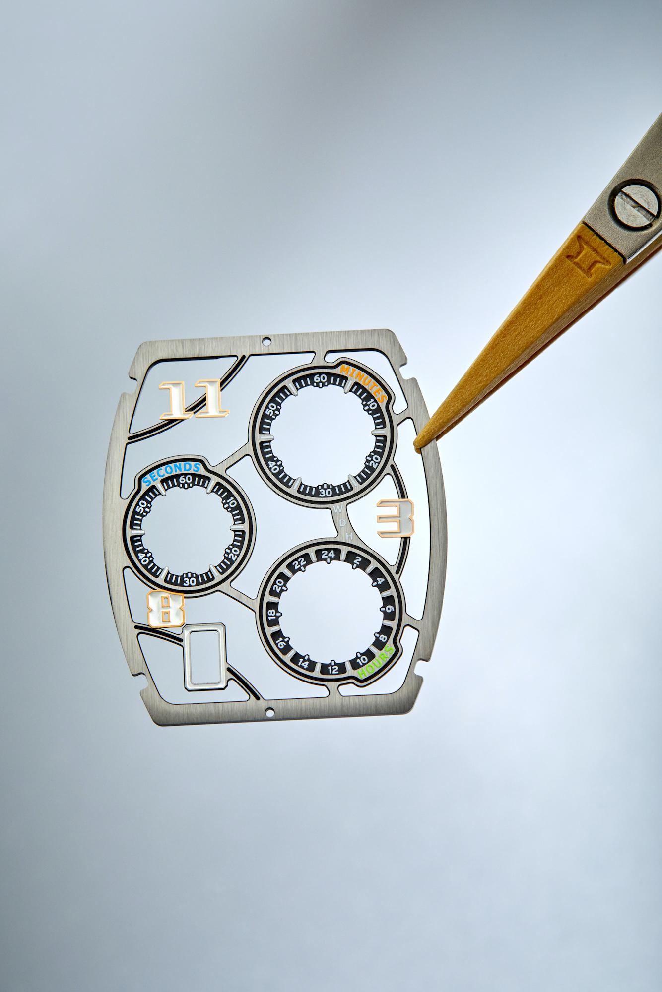 Richard Mille RM 72-01 Lifestyle Chronograph detalle esfera