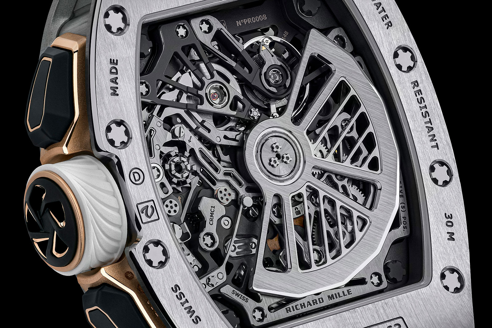 Richard Mille RM 72-01 Lifestyle Chronograph trasera