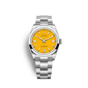 Rolex Oyster Perpetual 36 126000 amarillo