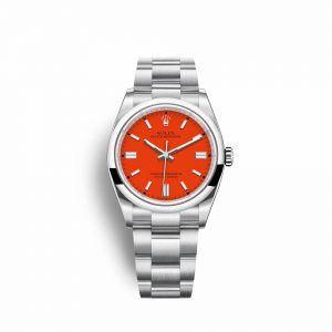 Rolex Oyster Perpetual 36 126000 rojo coral