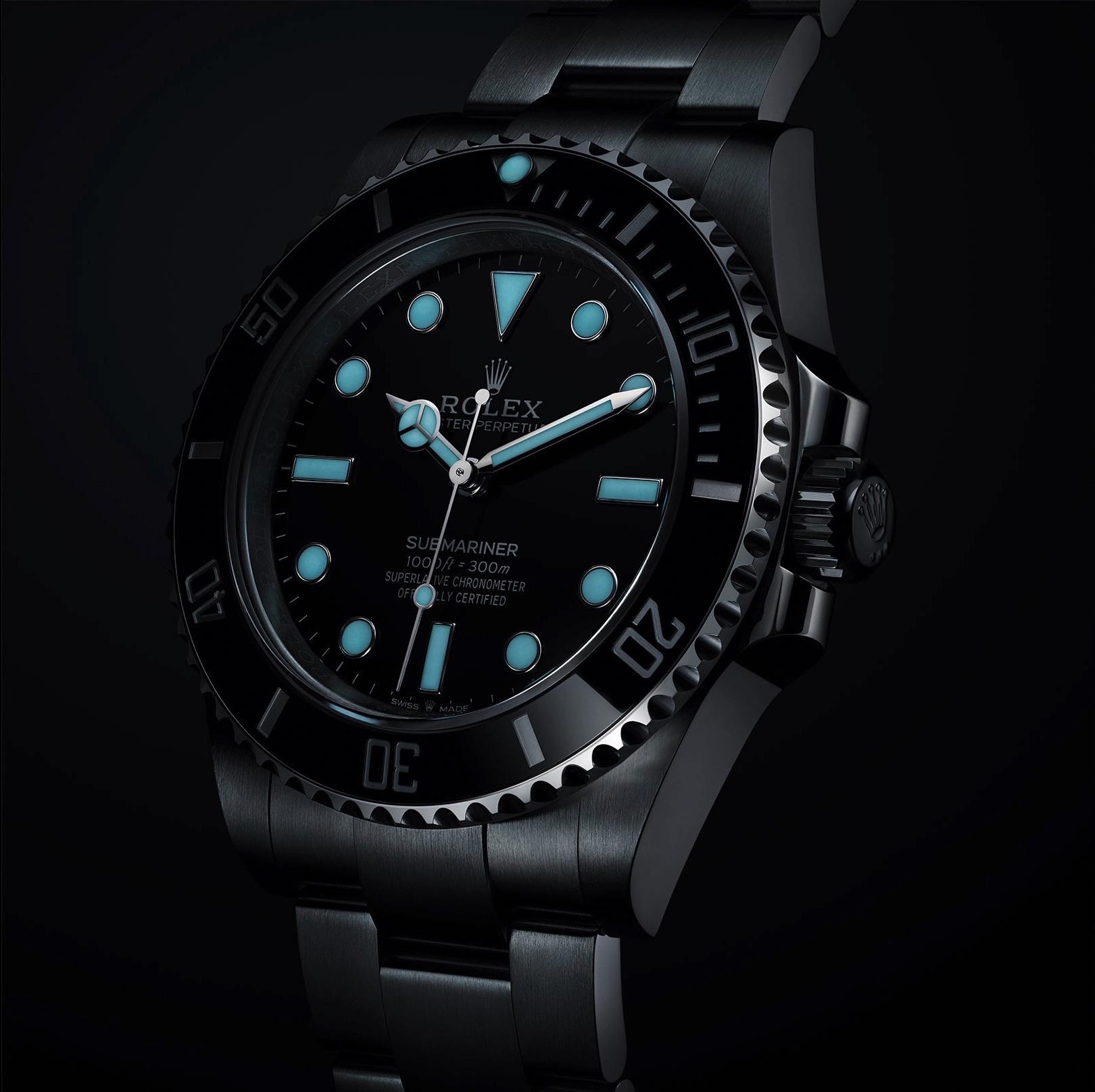 Rolex Submariner No Date 124060 noche
