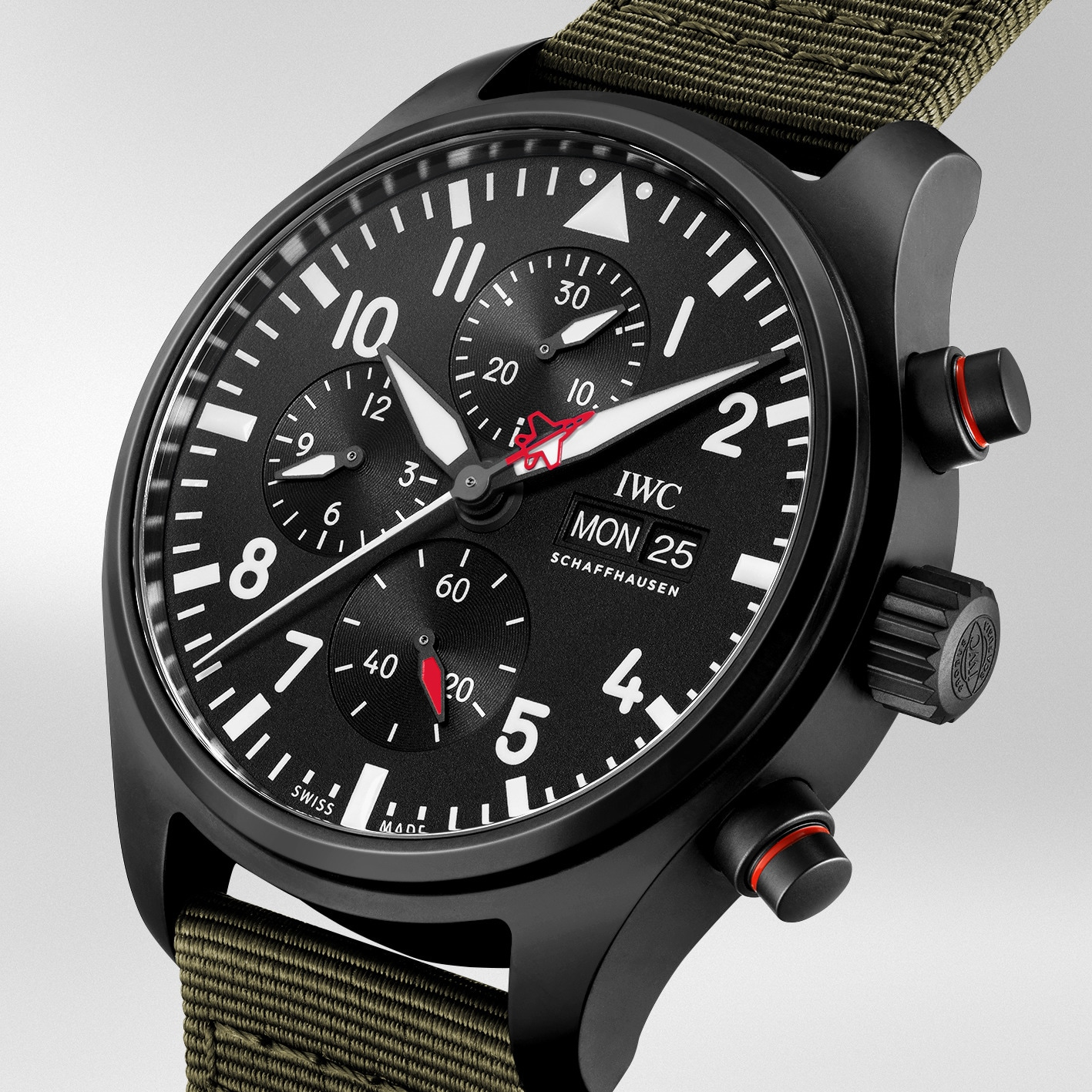 Iwc Pilot Watch Chronograph Top Gun Edition SFTI IW389104 detalle
