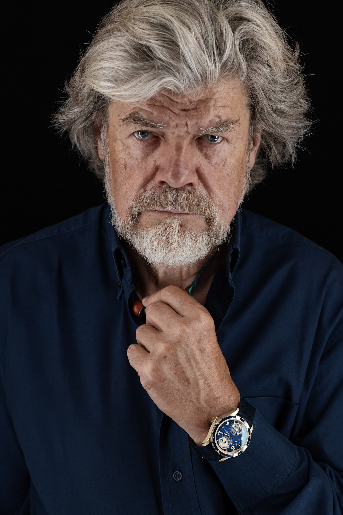 Montblanc 1858 Geosphere Messner Limited Edition 262 pieces - Reinhold Messner lifestyle