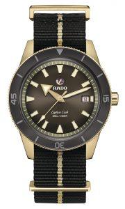 Rado Captain Cook Bronze con correa NATO Ref R32504307