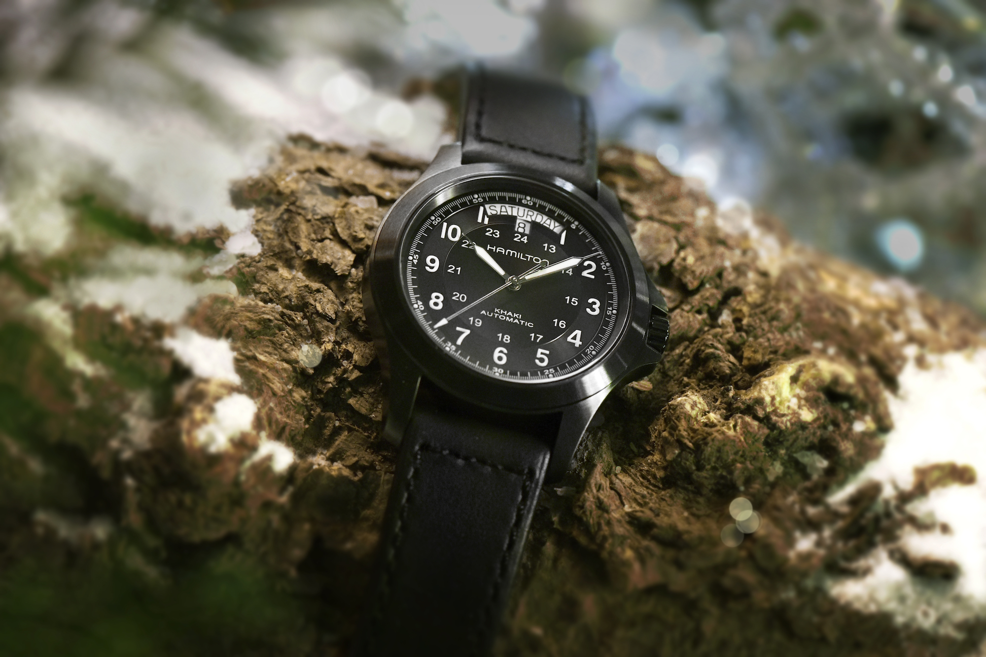 Hamilton Khaki Field King lifestyle