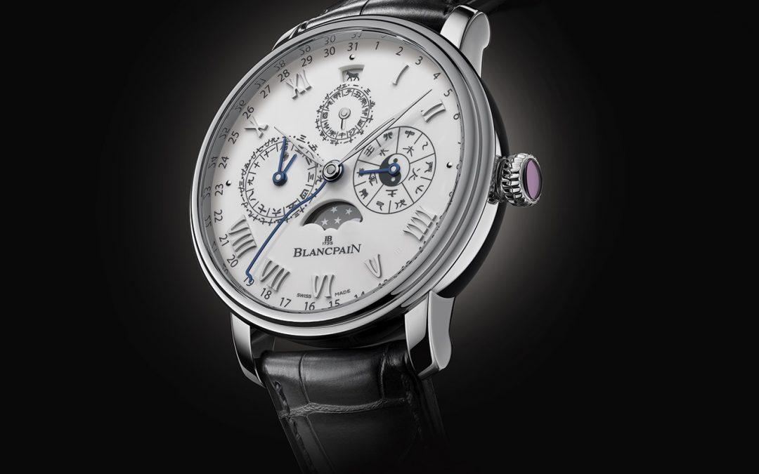 Blancpain Villeret Calendario Chino Tradicional: un reloj excepcional con la efigie del buey