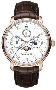 Blancpain Villeret Calendario Chino Tradicional 00888-3631-55B frontal