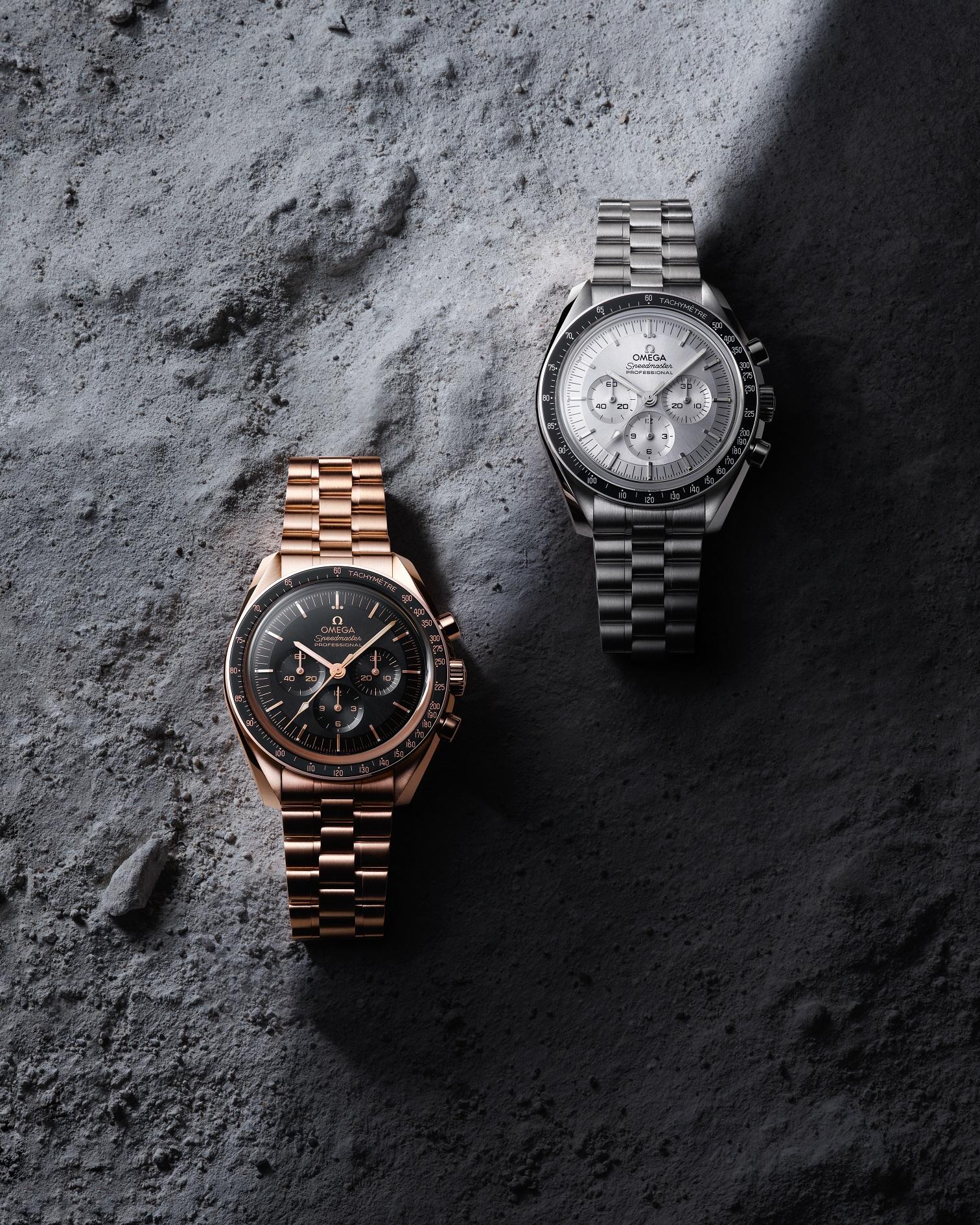Omega Speedmaster Moonwatch 310.60.42.50.01.001 y 310.60.42.50.02.001