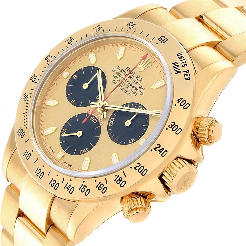 Rolex Daytona 116528 Paul Newman oro amarillo