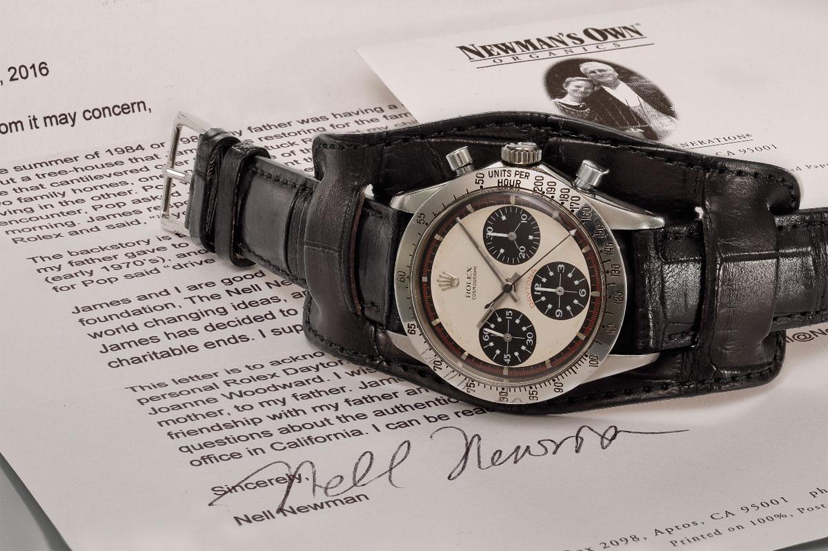 Rolex Daytona 6239 Paul Newman subasta
