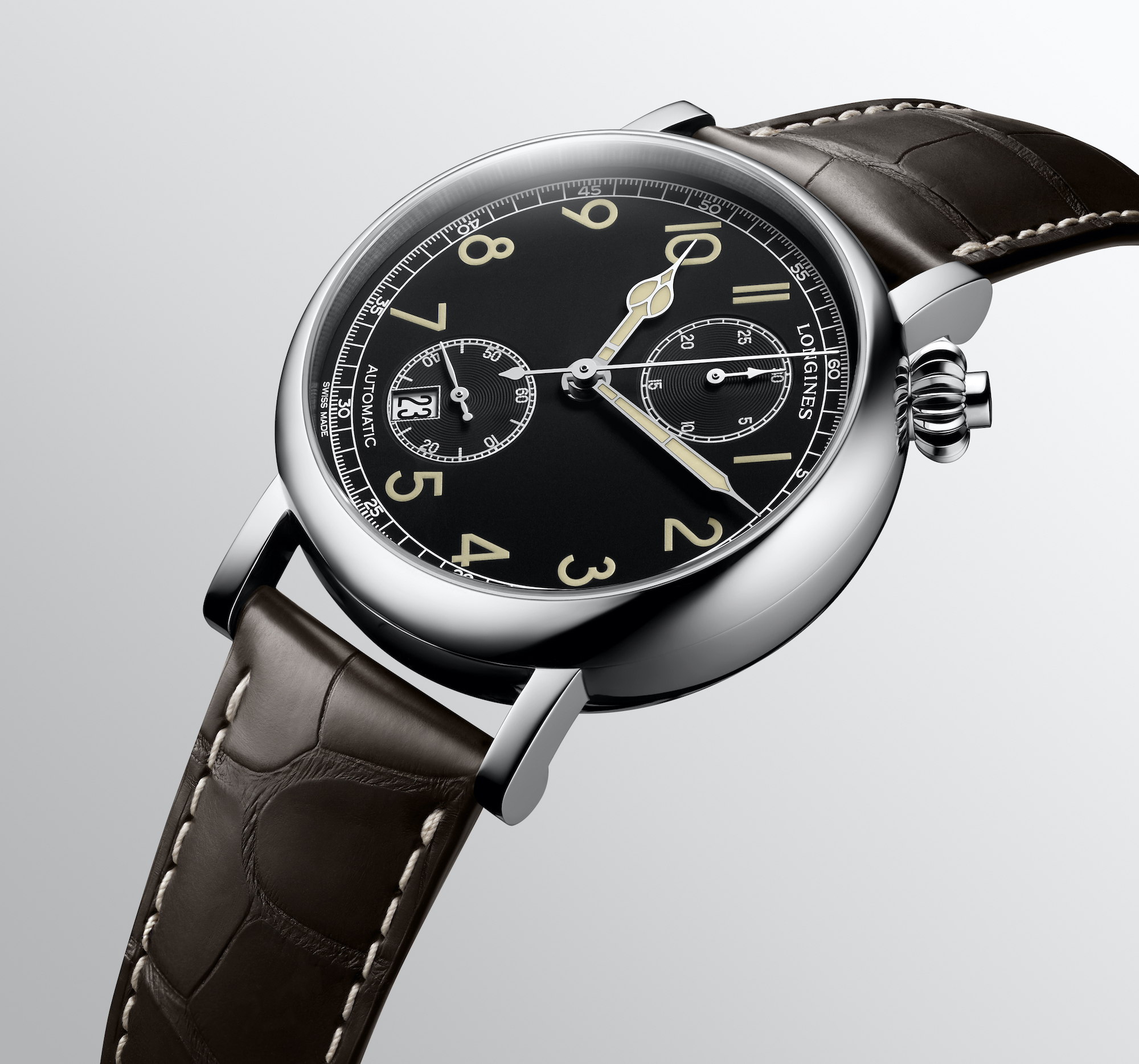 The Longines Avigation Watch A-7 1935 detalle 2