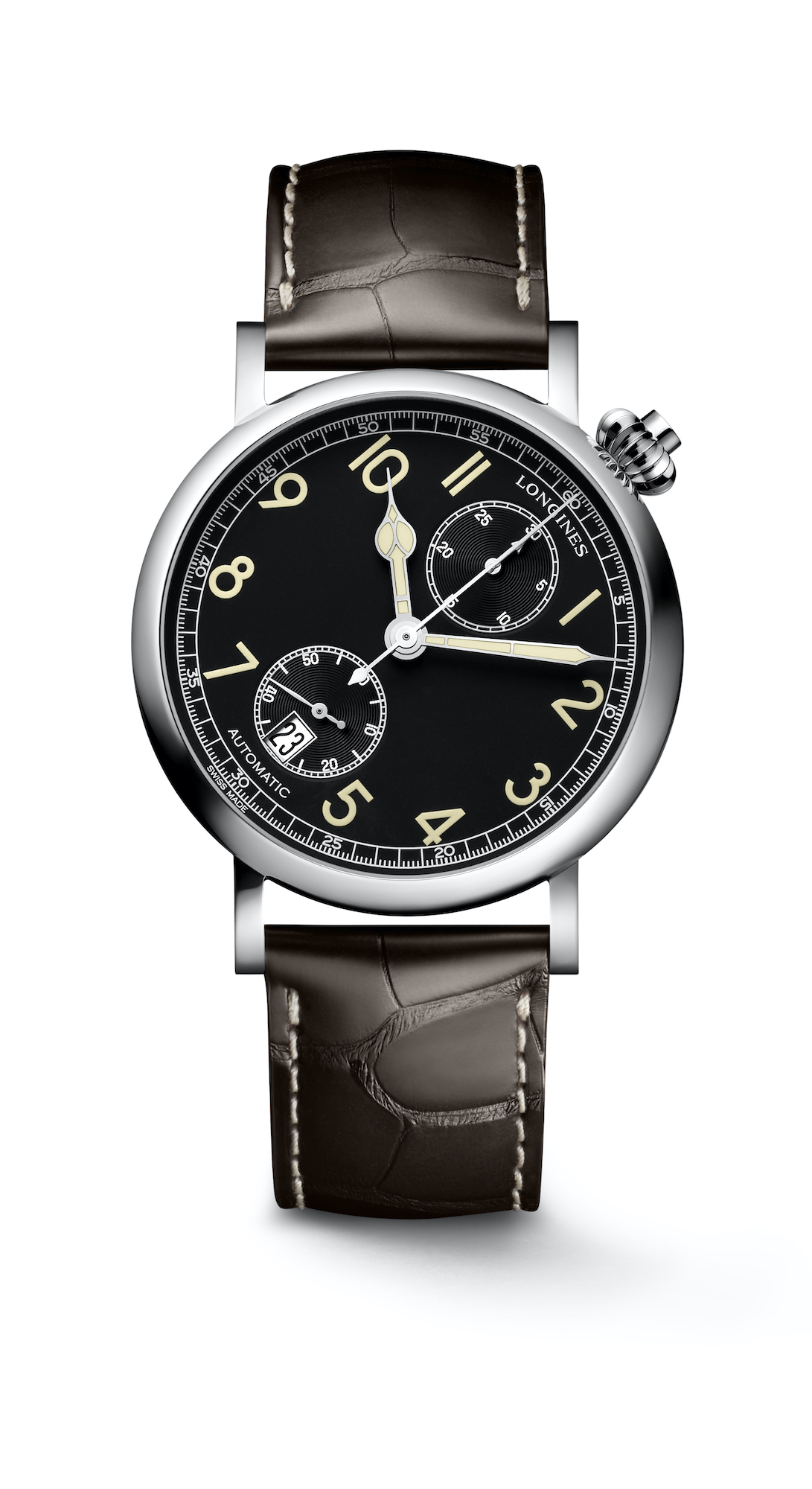 The Longines Avigation Watch A-7 1935 frontal