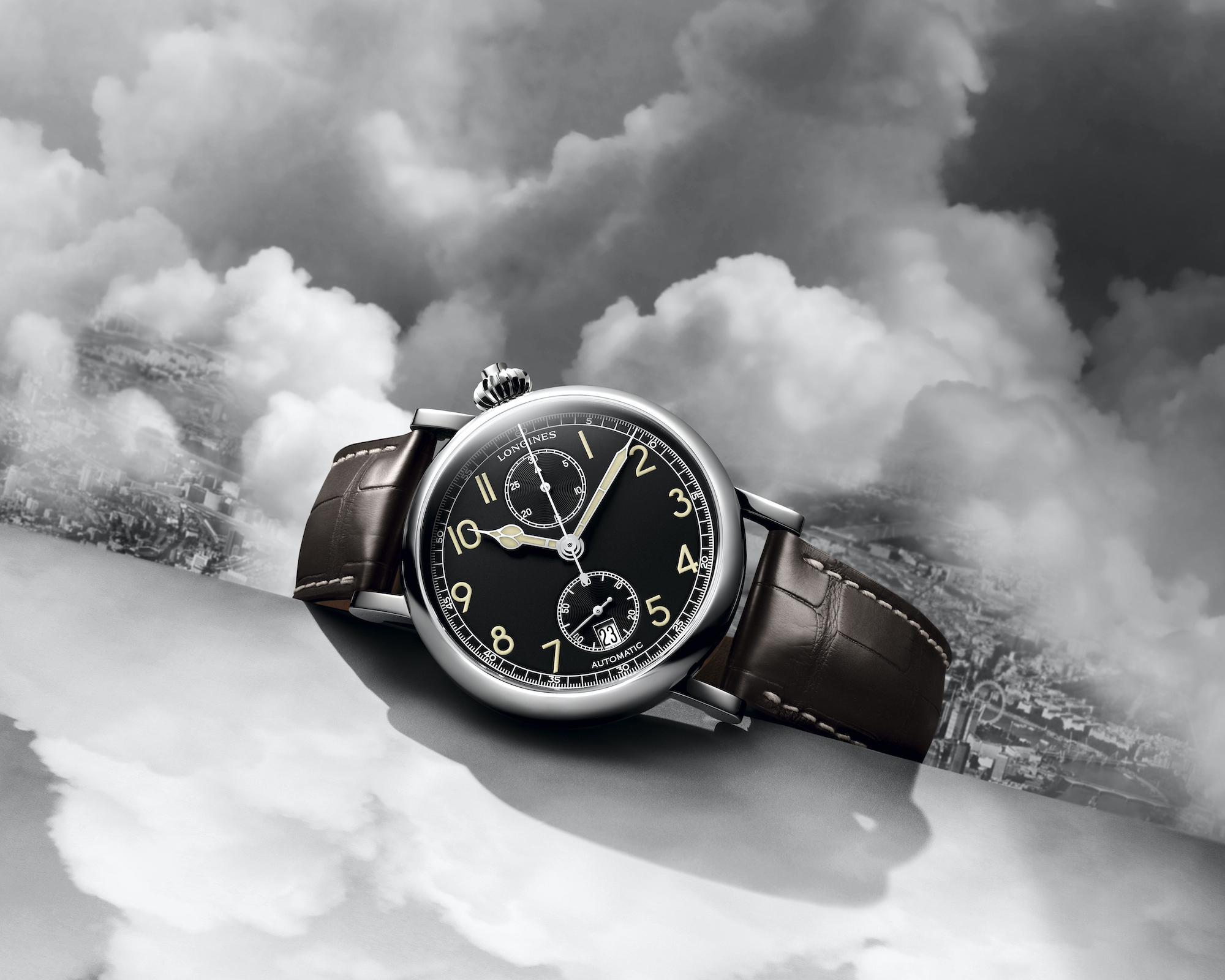 The Longines Avigation Watch A-7 1935 lifestyle