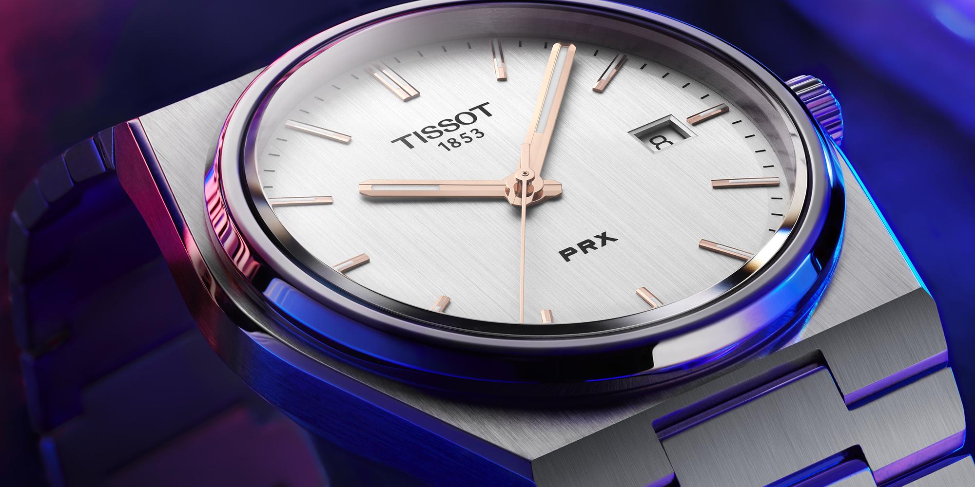 Tissot PRX 40 205 T137_410_11_031_00 Detalle esfera