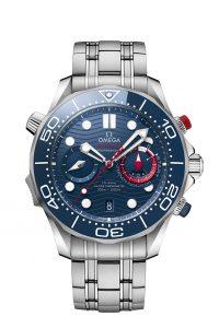 Omega Seamaster Diver 300M Americas Cup Chronograph 210.30.44.51.03.002 Brazalete acero